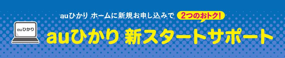 auひかり 新スタートサポート(ホーム)
